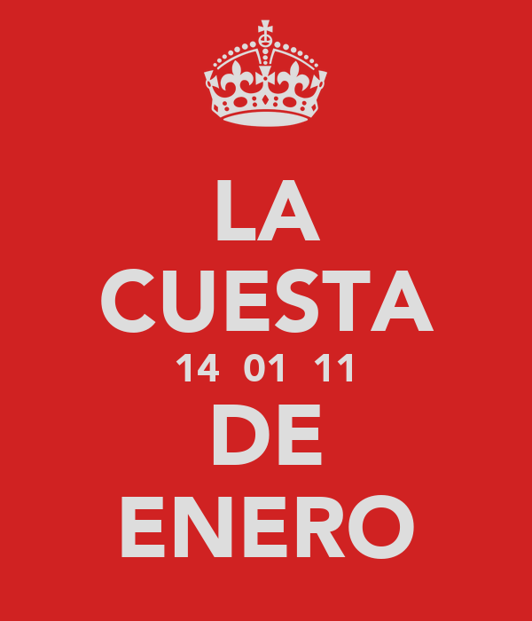 LA CUESTA 14  01  11 DE ENERO