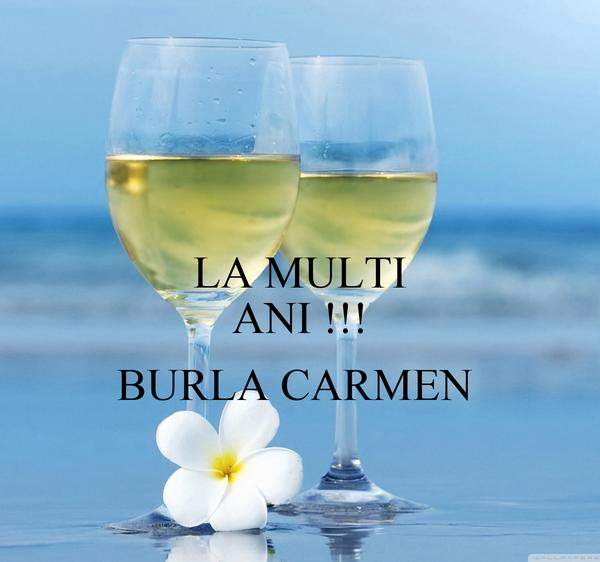 LA MULTI ANI !!!  BURLA CARMEN