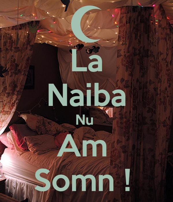 La Naiba Nu  Am  Somn !