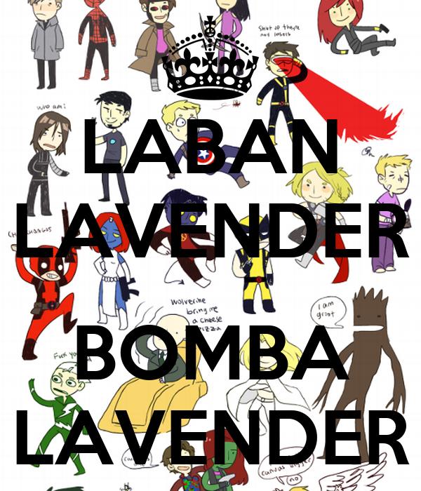 LABAN LAVENDER  BOMBA LAVENDER