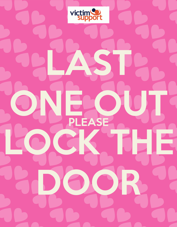 last one out please lock the door poster jb keep calm o matic