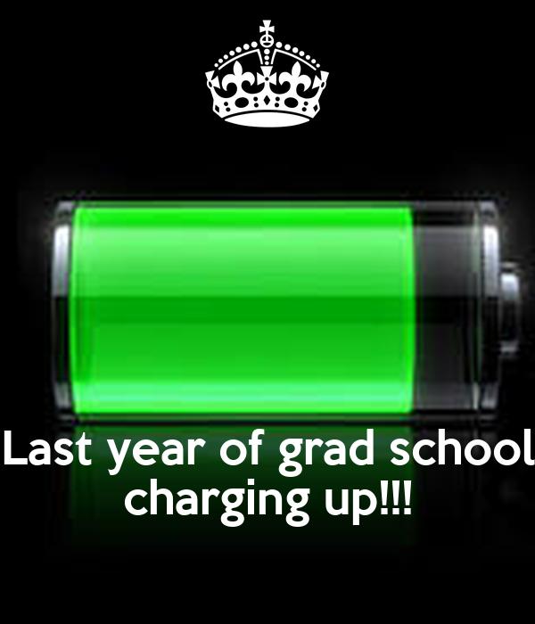 Last year of grad school charging up!!!
