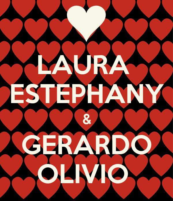 LAURA   ESTEPHANY  & GERARDO OLIVIO