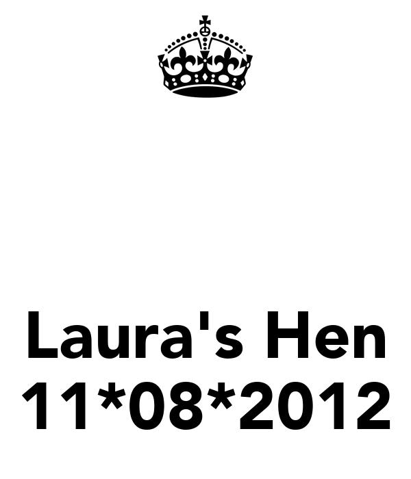 Laura's Hen 11*08*2012