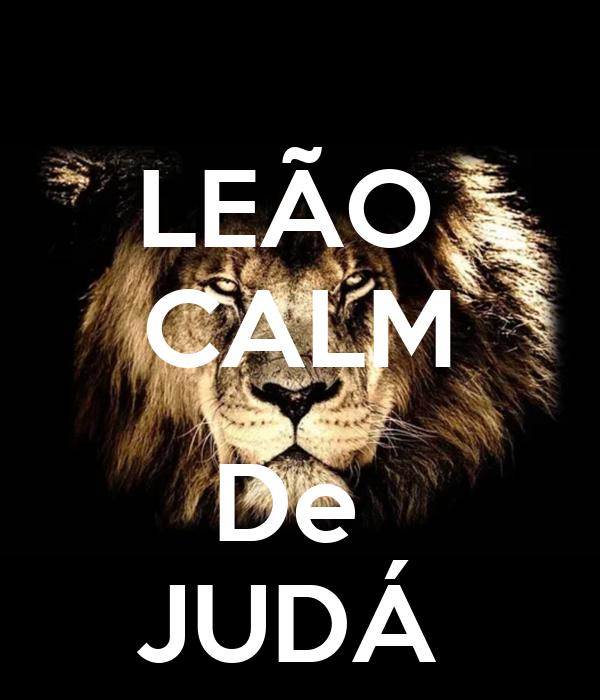 LEÃO  CALM  De  JUDÁ
