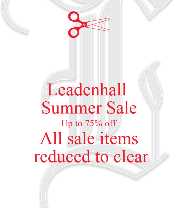 Leadenhall  Summer Sale Up to 75% off All sale items  reduced to clear