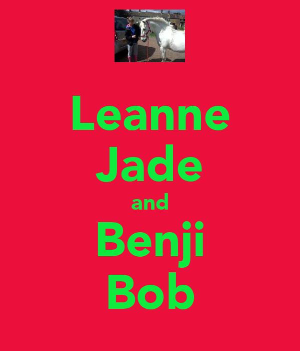 Leanne Jade and Benji Bob