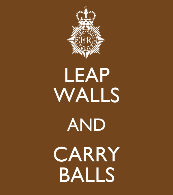 LEAP WALLS AND CARRY BALLS