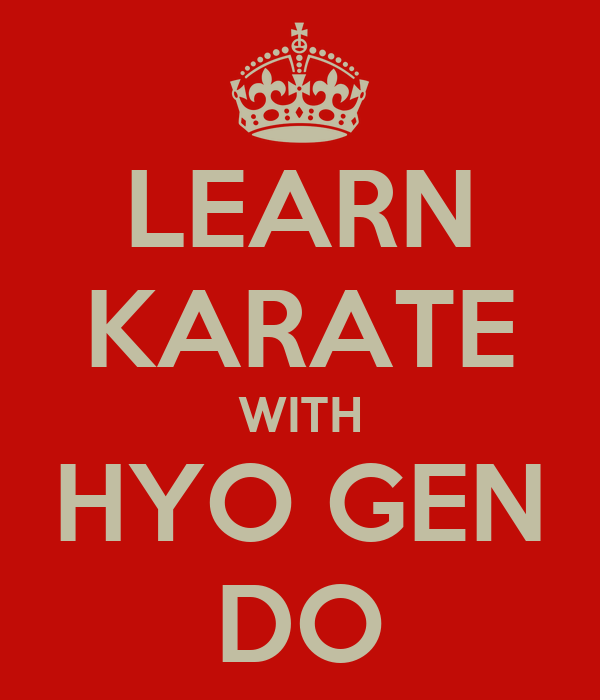 LEARN KARATE WITH HYO GEN DO