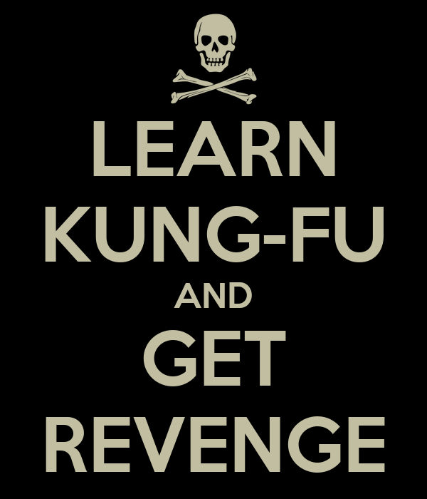 LEARN KUNG-FU AND GET REVENGE