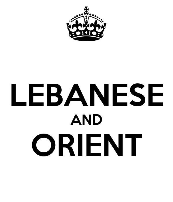 LEBANESE AND ORIENT