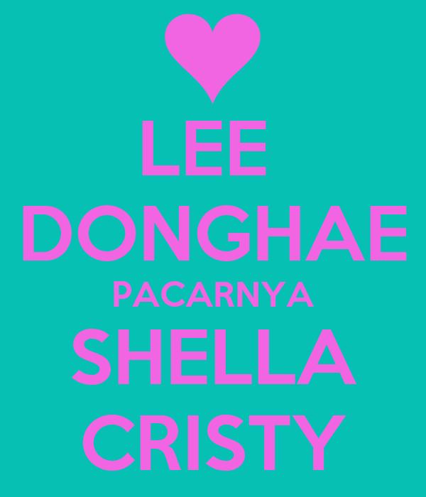 LEE  DONGHAE PACARNYA SHELLA CRISTY