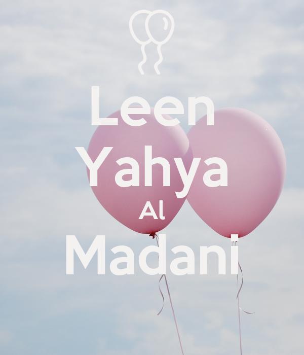 Leen Yahya Al Madani