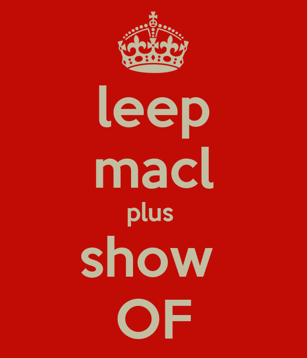 leep macl plus  show  OF