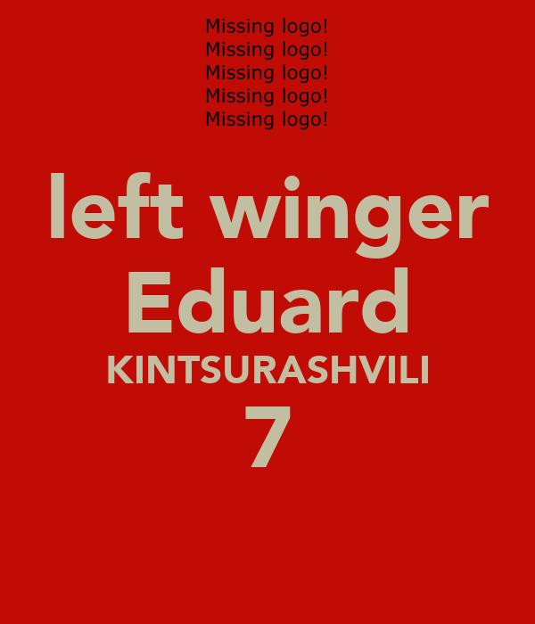 left winger Eduard KINTSURASHVILI 7