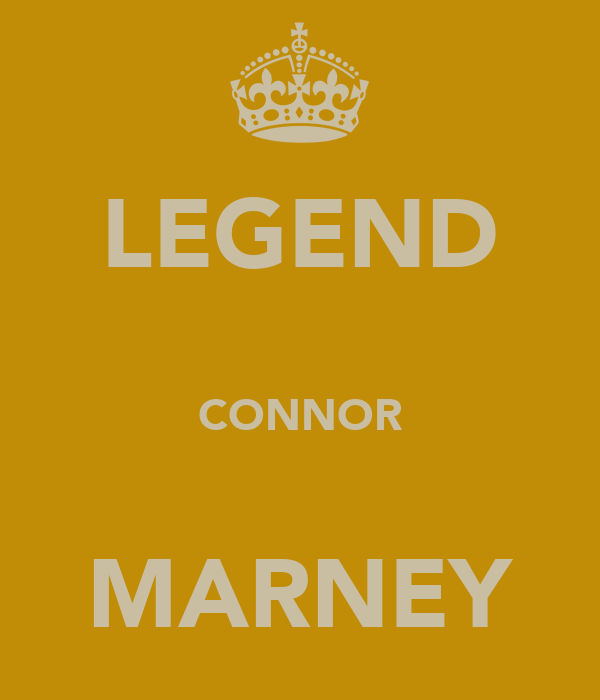 LEGEND  CONNOR  MARNEY
