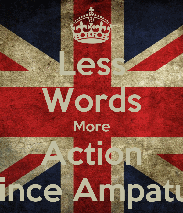 Less Words More Action -Prince Ampatuan