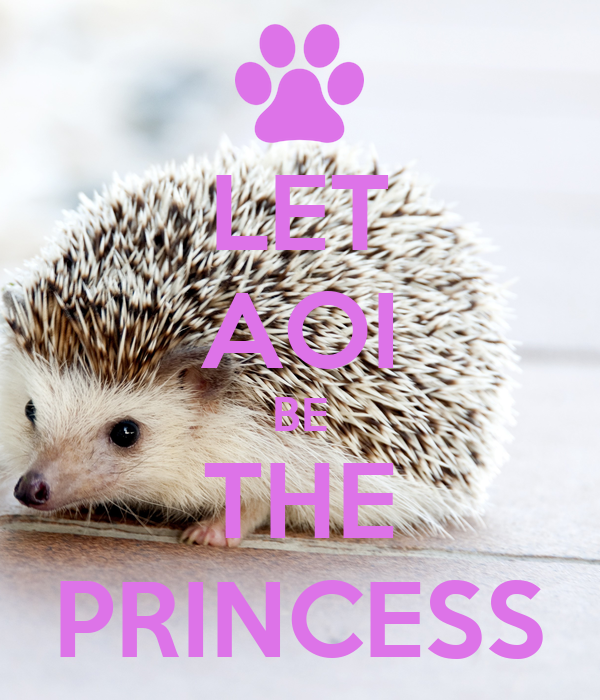 LET AOI BE THE PRINCESS
