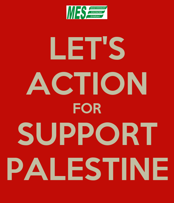 LET'S ACTION FOR SUPPORT PALESTINE