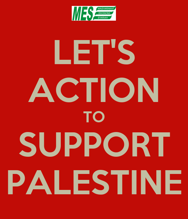 LET'S ACTION TO SUPPORT PALESTINE