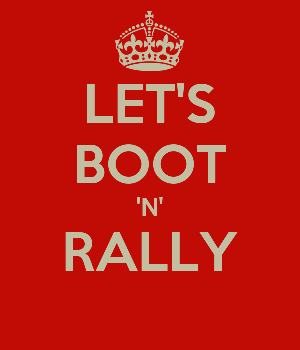 LET'S BOOT 'N' RALLY