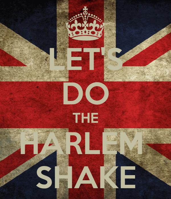 LET'S DO THE HARLEM  SHAKE