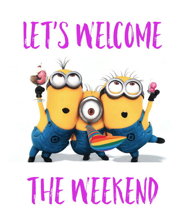 Let's welcome    THE WEEKEND