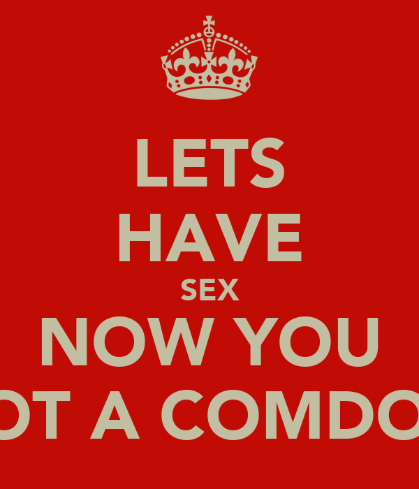 lets have sex now
