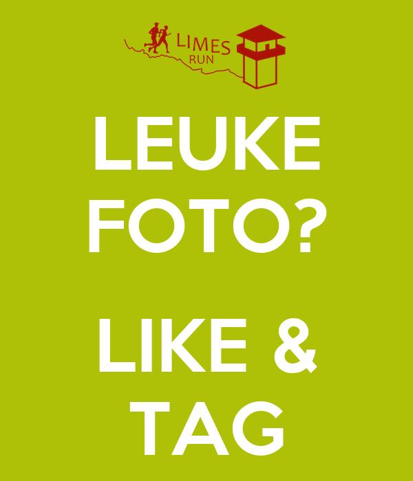 LEUKE FOTO?  LIKE & TAG