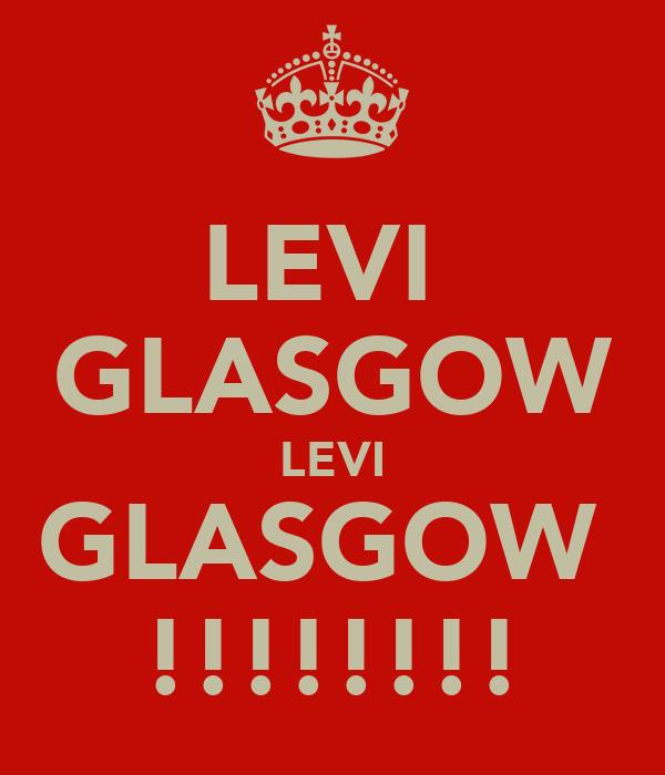LEVI  GLASGOW LEVI GLASGOW  !!!!!!!!