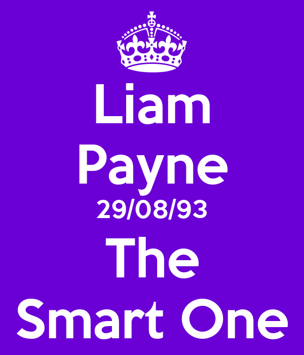 Liam Payne 29/08/93 The Smart One
