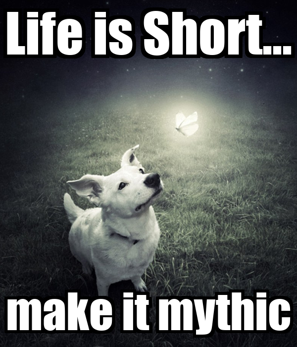 Life is Short... make it mythic