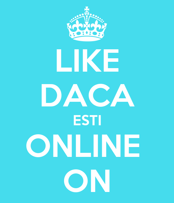 LIKE DACA ESTI ONLINE  ON