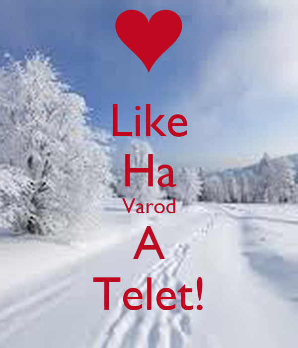 Like Ha Varod A Telet!