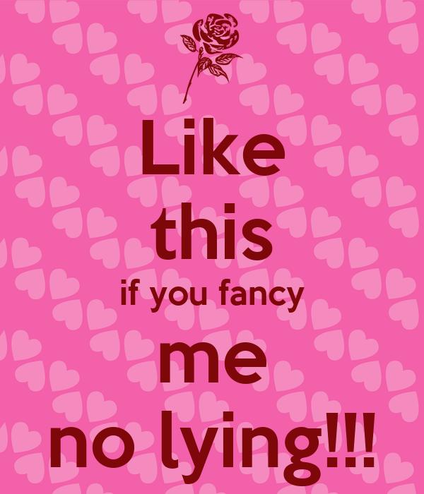 Do u fancy me