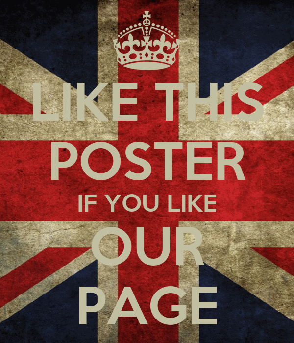 LIKE THIS POSTER IF YOU LIKE OUR PAGE