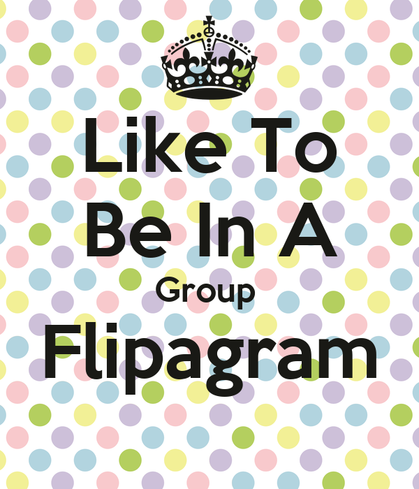 Like To Be In A Group  Flipagram