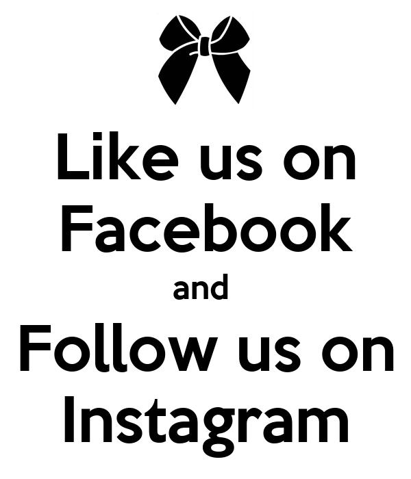 15 Fantastic Florists To Follow On Instagram: Like Us On Facebook And Follow Us On Instagram Poster