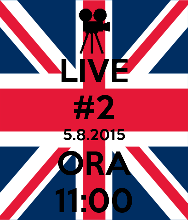 LIVE #2 5.8.2015 ORA 11:00