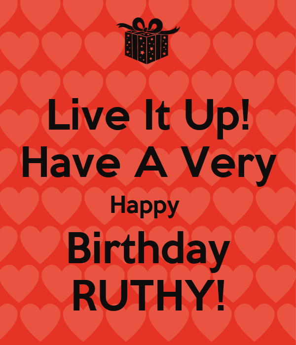 Happy Birthday Ruthie Images
