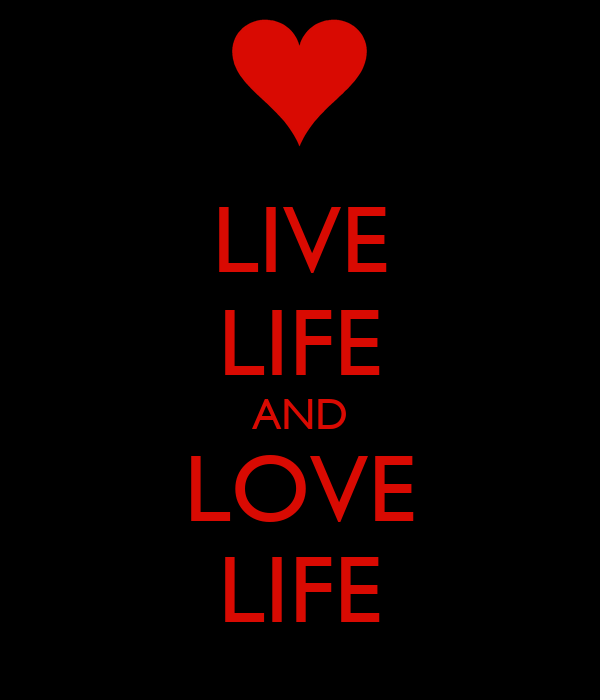 LIVE LIFE AND LOVE LIFE