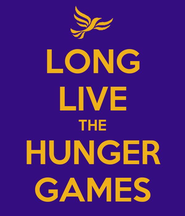 LONG LIVE THE HUNGER GAMES