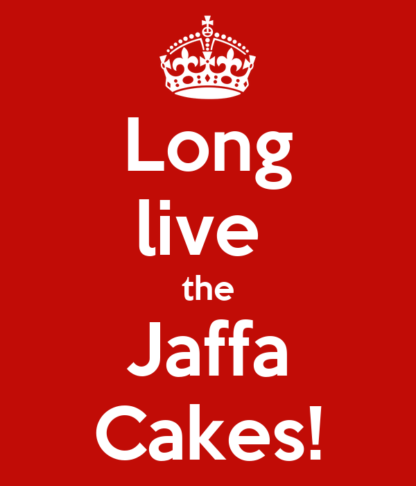 Long live  the Jaffa Cakes!