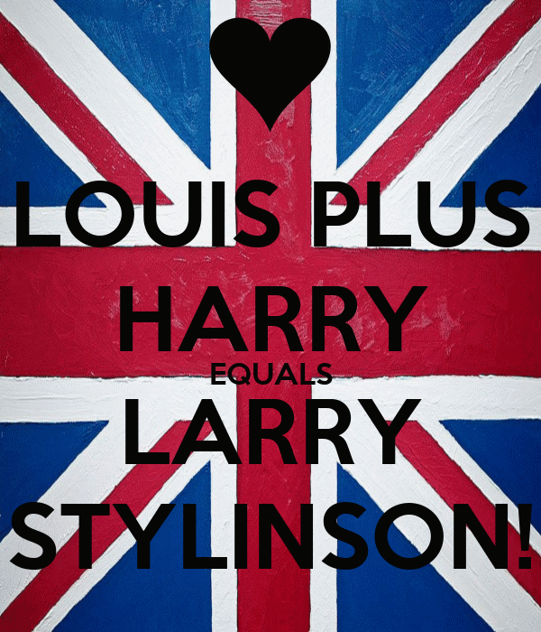 LOUIS PLUS HARRY EQUALS LARRY STYLINSON!
