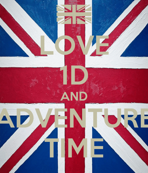 LOVE 1D AND ADVENTURE TIME