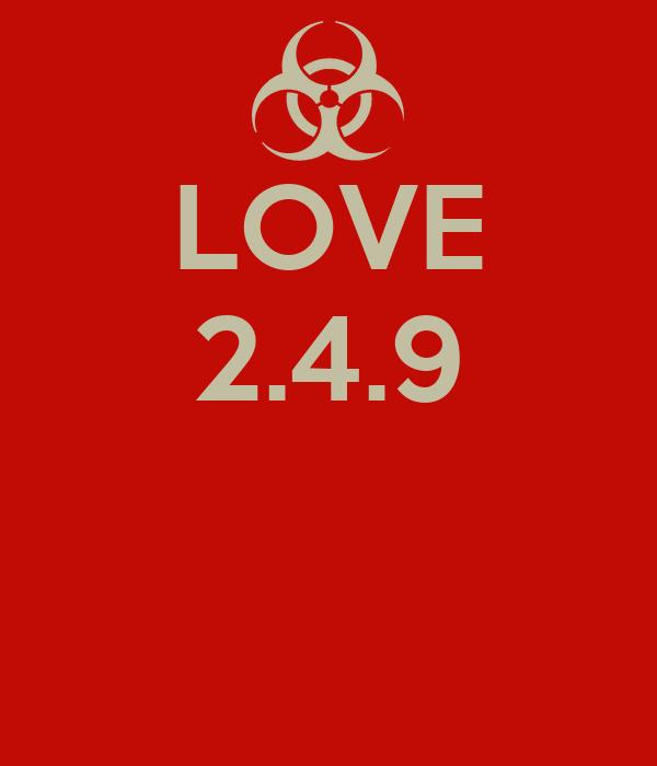 LOVE 2.4.9
