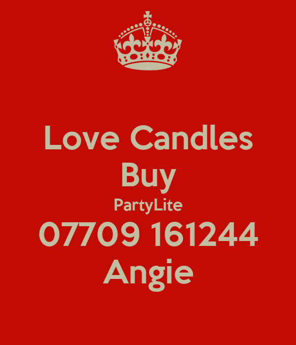 Love Candles Buy PartyLite 07709 161244 Angie