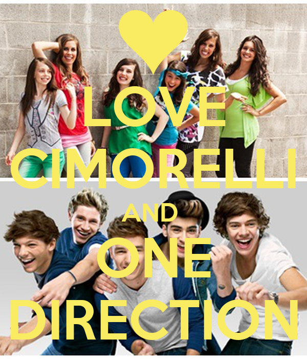 LOVE CIMORELLI AND  ONE DIRECTION