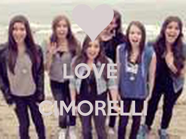 LOVE   CIMORELLI
