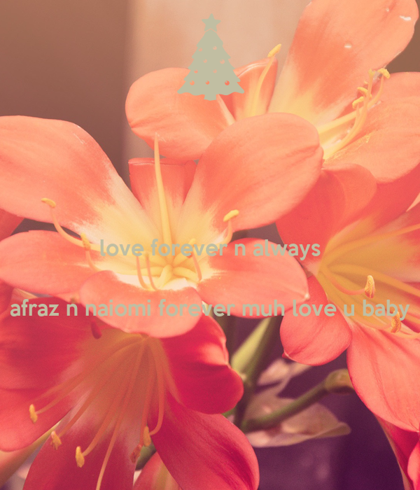 love forever n always   afraz n naiomi forever muh love u baby